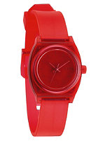 NIXON Womens Small Time Teller P translucent coral