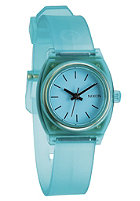 NIXON Womens Small Time Teller P translucent mint