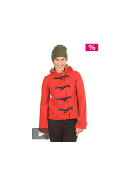 NIXON Womens Stella Jacket red