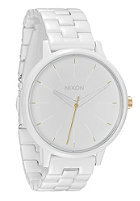NIXON Womens The Kensington all white/gold