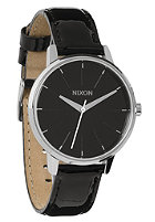 NIXON Womens The Kensington Leather black patent