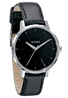 NIXON Womens The Kensington Leather black