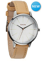 NIXON Womens The Kensington Leather natural / silver