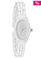 NIXON Womens The Scarlet all white/gold