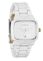 NIXON Womens The Small Player all white/gold