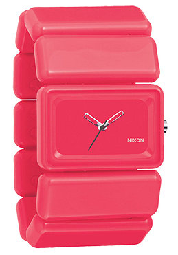 NIXON Womens The Vega bright pink