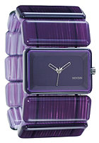 NIXON Womens The Vega purple marble