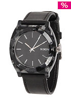 NIXON Womens Time Teller Acet Leather gray granite