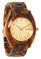 NIXON Womens Time Teller Acetate gold/molasses