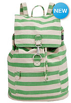 NIXON Womens Tree Hugger Backpack kelly green / bone