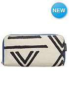 NIXON Womens Tree Hugger Large Wallet ivory / black