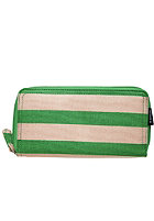 NIXON Womens Tree Hugger Large Wallet kelly green / bone