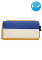 NIXON Womens Tree Hugger Large Wallet oatmeal / stripe