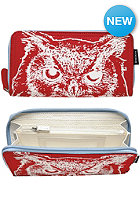 NIXON Womens Tree Hugger Large Wallet red owl