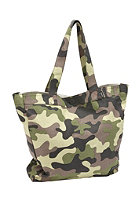 NIXON Womens Tree Hugger Tote Bag black camo