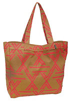 NIXON Womens Tree Hugger Tote Bag brown/cherry