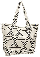NIXON Womens Tree Hugger Tote Bag ivory/black