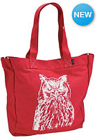 NIXON Womens Tree Hugger Tote Bag red owl
