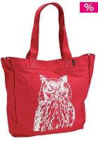NIXON Womens Tree Hugger Tote red owl