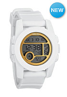 NIXON Womens Unit 40 all white/gold