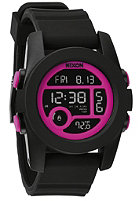 NIXON Womens Unit 40 black/magenta
