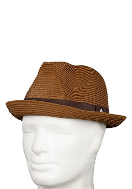 NIXON Womens Voyager Fedora Hat natural