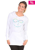 NIXON Womens Whatever Hooded Sweat white