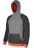 NIXON Woods Hooded Sweat charcoal heather