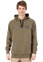 NIXON Wordmark Hooded Sweat dark sage
