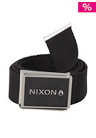 NIXON Woven Wordmark Belt black
