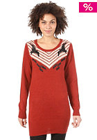 N�MPH Agnes Knit red ochre