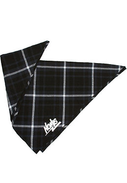 NOMIS Flandano Bandana black/white plaid flannel