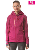 NORR�NA Womens Lyngen Driflex3 Jacket purple haze