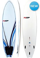 NSP 6'4 Classic Fish Surfboard white