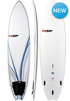 NSP 7'0 Classic Fish Surfboard white