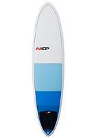 NSP 7'2 Classic Fun Surfboard blue 3T