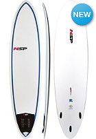 NSP 7'2' Classic Fun Surfboard EF blue