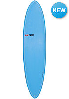NSP 7'2 Elements Fun Surfboard VC blue