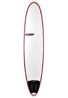NSP 7'6 Classic Fun Surfboard red