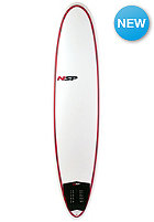 NSP 7'6 Classic Fun Surfboard red