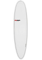 NSP 7'6 Elements Fun Surfboard VC white
