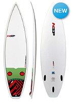 NSP Kids 5'4' Classic Grom Surfboard white