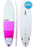 NSP Womens 6'8' Classic B4BC Surfboard white