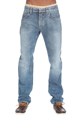 NUDIE JEANS Big Bengt Pant loose tapered leg blue