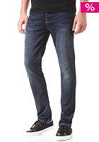 NUDIE JEANS Grim Tim crosshatch worn in