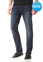 NUDIE JEANS Grim Tim Denim Pant crosshatch worn in