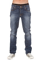 NUDIE JEANS Grim Tim Pant organic slub ecru embo