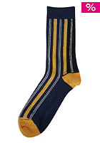 NUDIE JEANS Joeysson Socks blue/yellow