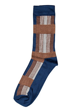 NUDIE JEANS Joeysson Socks Sketchy Check blue