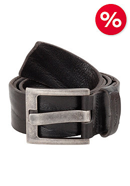 NUDIE JEANS Melkersson Wide Pin Buckle Belt black